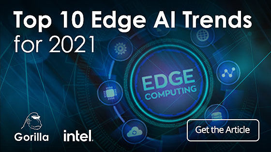 Top 10 Edge AI Trends for 2021
