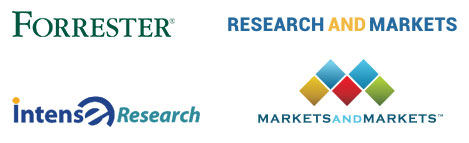 logos of industry research institutions and consulting companies