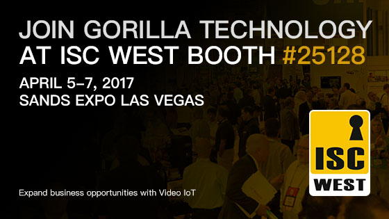 ISC West Las Vegas 2017, Booth#25128