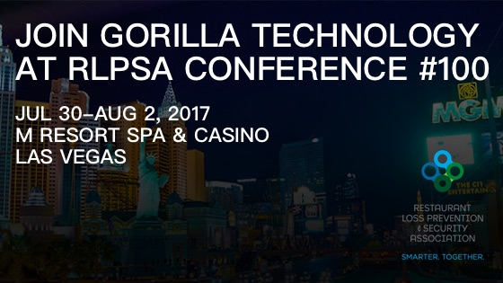 Join Gorilla Technology at RLPSA Conference 2017, Booth #100