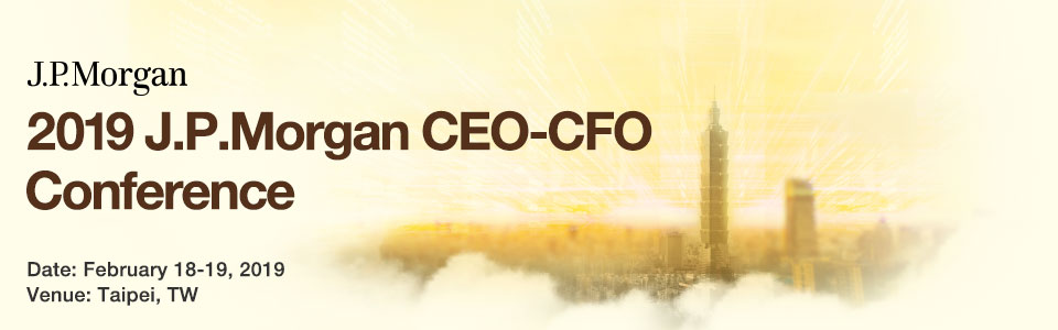 2019 JPMorgan CEO-CFO Conference
