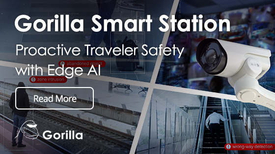 Gorilla Smart Station Proactive Traveler Safety with Edge AI
