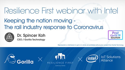 Gorilla Joins Intel & ResilienceFirst Webinar on the UK Response to Covid-19
