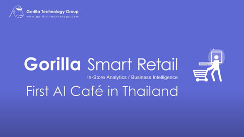 image of Gorilla Smart Retail - First AI Cafe in Thailand